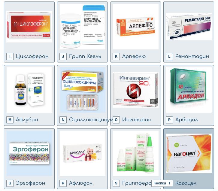 Исследуемые препараты